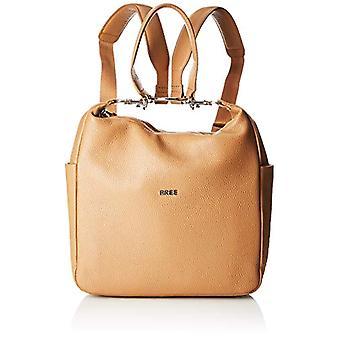 BREE Collection Nola 10 Tan Backpack S S19 - Zaini Donna Marrone (Tan) 9x32x26.5 cm (B x H T)