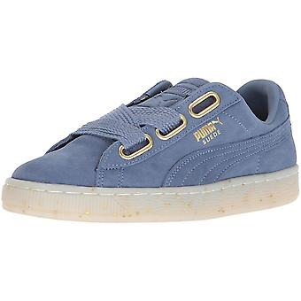 Puma Donne Cuore Tessuto Basso Top Top Top Fashion Sneakers