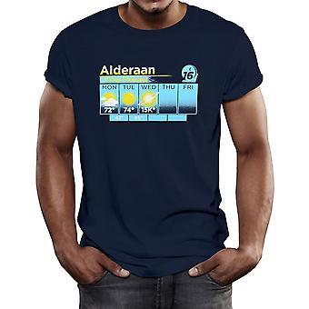 Alderaan 5 Día Pronóstico Camiseta