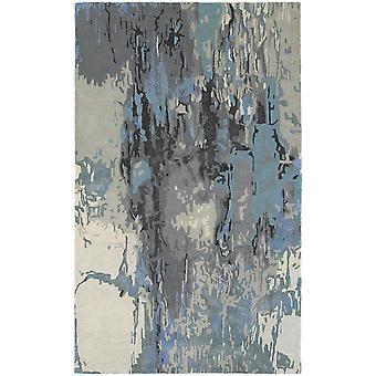 Galaxy 21906 blue/ grey indoor area rug rectangle 3'6