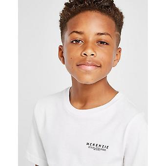 New McKenzie Boys' Essential Short Sleeve T-Shirt White