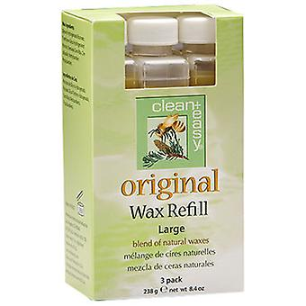 Clean+Easy Original Wax Refill Large (3)