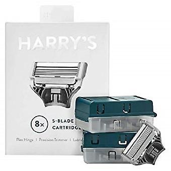 Harry's Men's Razor Blade Cartridges Refills - 8ct