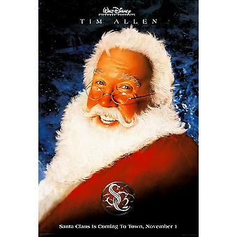 بابا نويل 2 (مزدوجة من جانب تقدم) (2002) ملصق السينما الأصلي