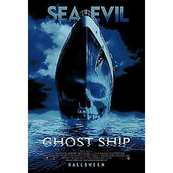 Poster original do cinema do navio fantasma (dobro-tomado o partido regular)