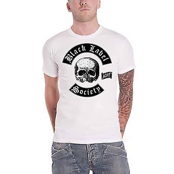 أسود تسمية المجتمع تي قميص SDMF الجمجمة باند شعار الرجال الرسمية الجديدة