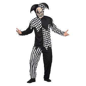 Miesten Evil tuomio istuin Jester Halloween Fancy mekko puku