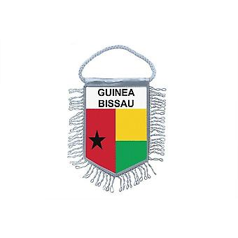 Flag Mini Flag Country Car Decoration Guinee Bissau