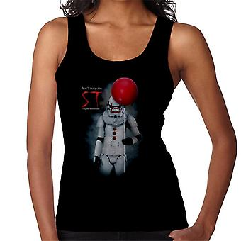 Original Stormtrooper ST Clown Parodia para mujeres oscuras's chaleco