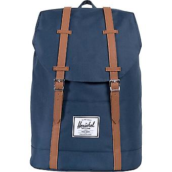 Herschel Supply Co Retreat Straps Backpack Rucksack Bag Navy 92