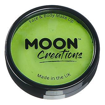 Moon Creations - Pro Face & Body Paint Cake Pots - Light Green