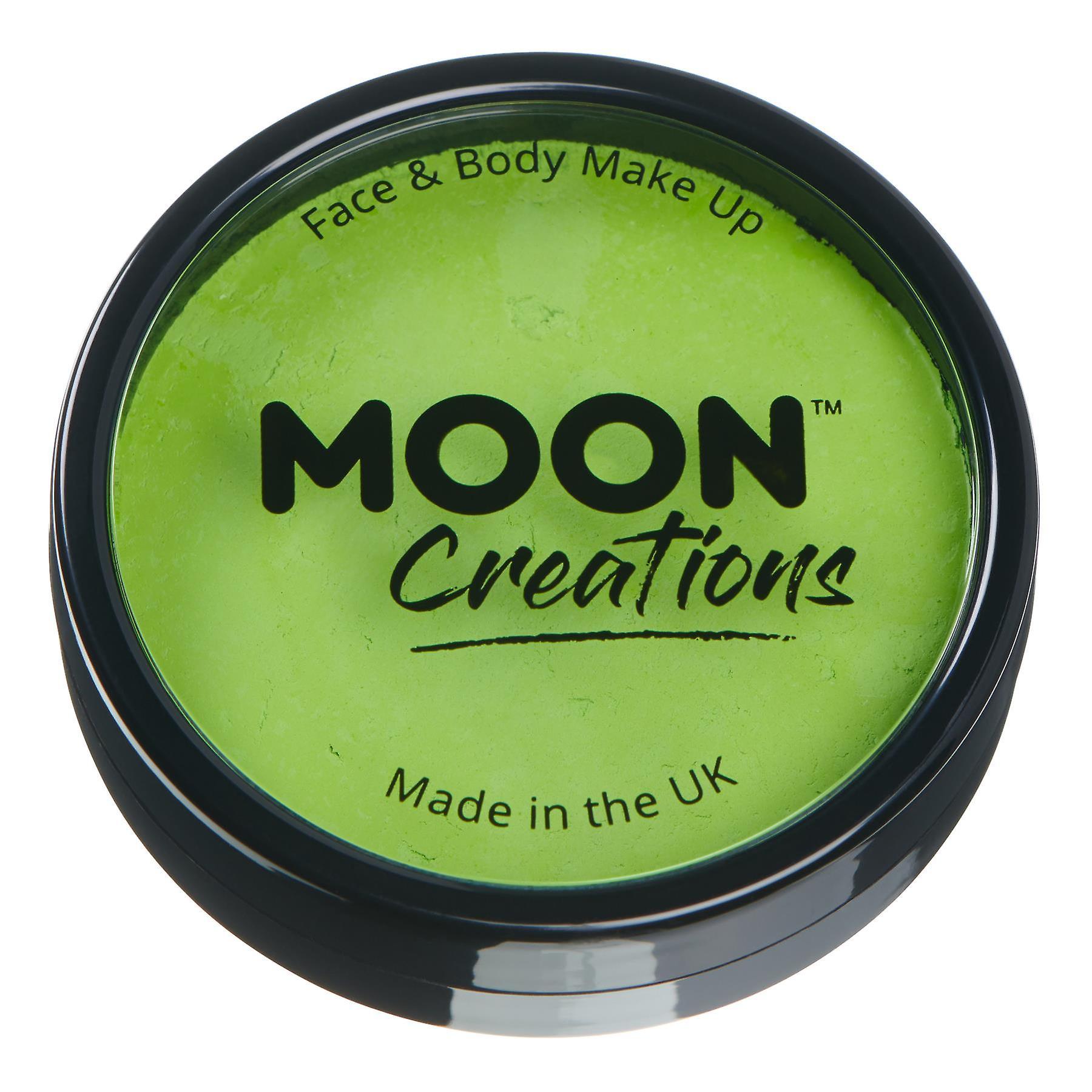 Moon Creations - Pro Face & Body Paint Cake Pots - Light Green