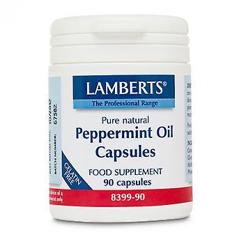 Lamberts pebermynte olie kapsler 100mg 90 (8399-90)