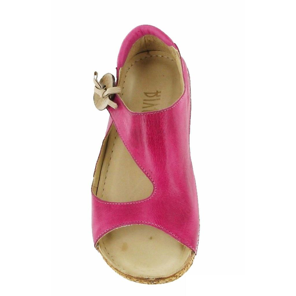 Riva Womens/Ladies Cartier Leather Sandals