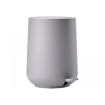 Zone Danemark Nova 5 Litre Bathroom Pedal Bin - Gull Grey