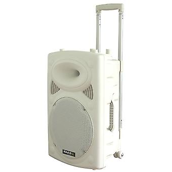 "Ibiza Sound Port15uhf-BT White 15 ""draagbaar PA-systeem"