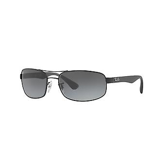 Ray-Ban RB3445 006/11 Matowe czarne/szare okulary przeciwsłoneczne