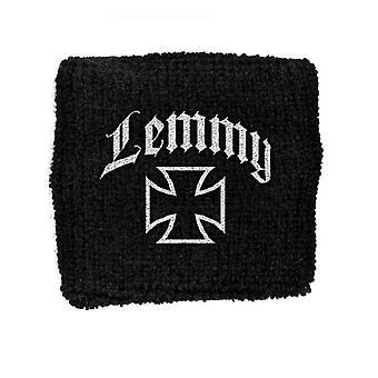 Lemmy Cross logo Motorhead New Official black Cotton Sweatband
