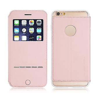 Case For iPhone 6 Plus / 6s Plus Rose With Window