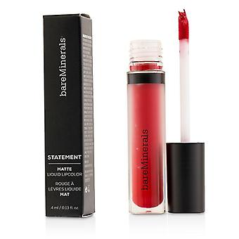 Bareminerals Statement Matte Liquid Lipcolor - # Vip - 4ml/0.13oz