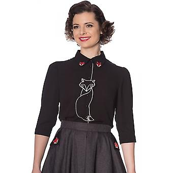 Banned Apparel Foxy Blouse