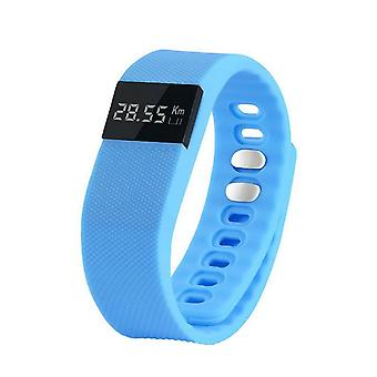 Sports Wristband/Activity wristband/Health bracelet-light blue