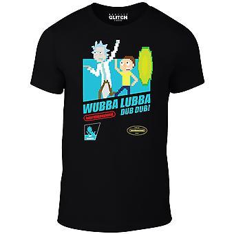 Men's wubba lubba dub dub rick & morty t-shirt