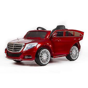 Kinder Elektroauto Mercedes S-Klasse ZP8003, EVA-Reifen, Ledersitz, MP3, 2x 25W