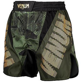 Venum Tattico Combattimento Pantaloncini Khaki/Nero/Oro