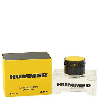 Hummer eau de toilette spray by hummer 416395 75 ml