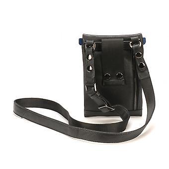 Body Bag D/black - Blue - Arthur and Aston - Size M - Leather