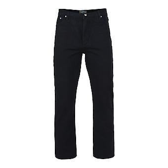 Kam Jeanswear sort høj Fit Jeans