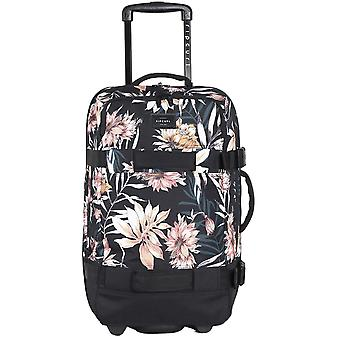 Rip Curl F-Light Transit Playa Wheeled Luggage in Black