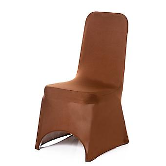 Chocolate Spandex Chair Cover Lycra cover