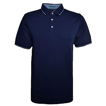 Ted Baker Men's Navy Blue Pug Polo