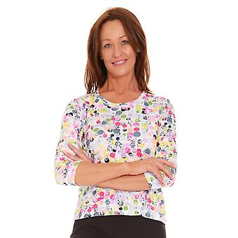 LUCIA Lucia Top Spot Or Flower Print 44 413350