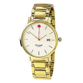 Kate Spade New York Gramercy Grand Pearl Dial Ladies Watch - 1YRU0009