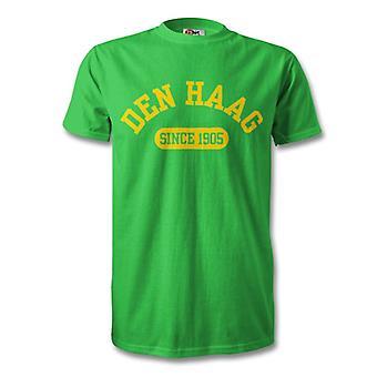 ADO Den Haag 1905 establecidas fútbol t-shirt