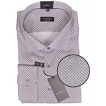 Eterna Mode Eterna Circle Pattern Cotton Formal Shirt