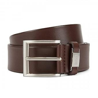 Hugo Boss Connio Brown 202 Leather Belt 50224631