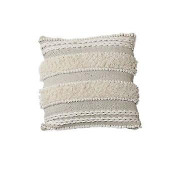 Moroccan Cushion Cover Shaggy Boho Style