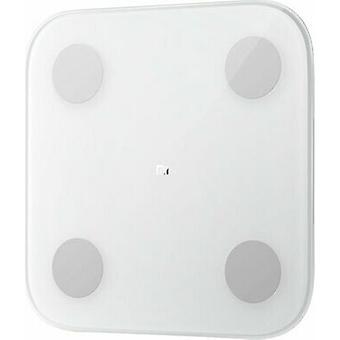Xiaomi Mi Body Fat Elektronisk Body Analysis Scale Glas op til 150 kg - Hvid