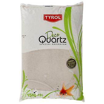 Agrobiothers Quartz Blanc Fin 15Kg (Poissons , Décoration , Graviers et sable)