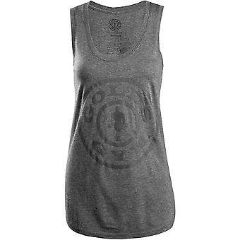 Gold's Gym Women's Weight Plate Racerback Tank Top - Gray