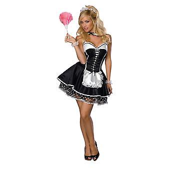 Sexy slúžka dospelých kostým