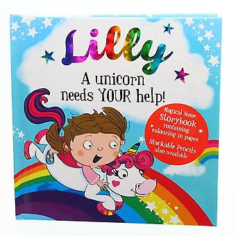 History & Heraldry Magical Name Storybook - Lilly