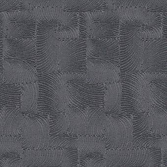 Textured Fossil Effect Wallpaper Black P+S 02480-70