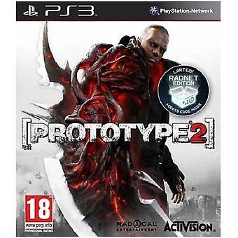 Prototype 2 Radnet Edition PS3 jeu