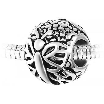 Steel Pearl Charm från SC Crystal BEA0264