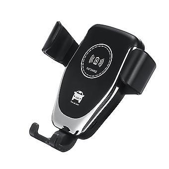10w 7.5w 5w qi chargeur sans fil capteur infrarouge capteur d'air vent titulaire de téléphone pour 4.0-6.5 pouces téléphone intelligent